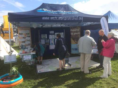 WCRT stand at Gosforth Show 2015