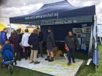 Raising awareness - meeting the public at Gosforth Show