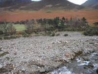 Gravels for New Channel - Adjacent to Lair Beck